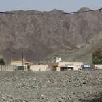 abgeschiedene Siedlungen hinter Al Masarrah