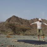 Traumzeltplatz in den Bergen zwischen Al Masarrah und Al Fath
