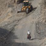 Straßenarbeiten zwischen Al Masarrah und Al Fath