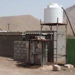 Rastplatz zwischen den restaurantlosen Siedlungen Al Fath und Al Ayn