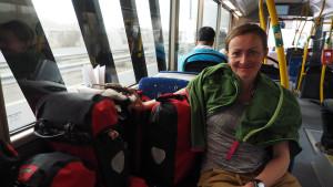 Busfahrt von Hatta nach Dubai