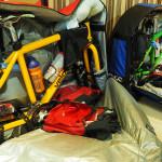 ... und sind bald darauf sauber in den Bike-Bags verpackt