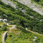 Auffahrt zum Passo del Duca (1.989m)