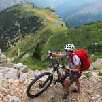 die letzten Meter zum Passo del Duca (1.989m)