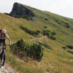 Abfahrt zum Passo del Duca (1.989m)