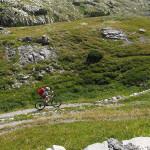Conca della Carsena - aufwärts zur Colla Piana di Malaberga (2.219m)