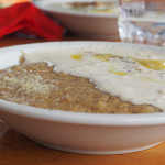 Rifugio Don Barbera (2.079m/Mittagessen) - Polenta mit Käse