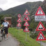 Vallone di Marmora – Auffahrt zum Colle d'Esischie (2.365m)