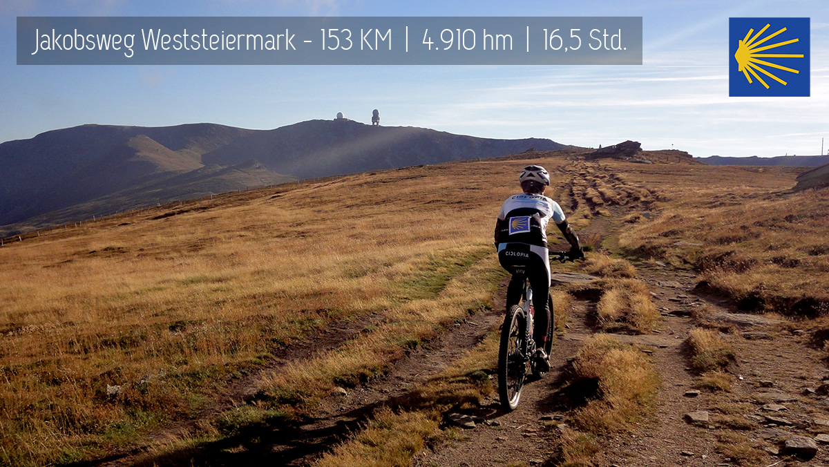 Radpilgern – MTB Jakobsweg Weststeiermark