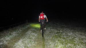 kurz nach 4.00 Uhr morgens in der Nähe von Thal bei Graz