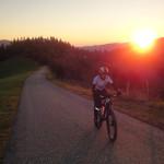 Sonnenaufgang zwischen Geistthal und Bärnbach