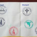 mit dabei: der offizielle Pilgerpass