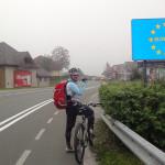 am nächsten Tag: entlang der Drau in Slowenien