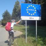 am nächsten Tag: über den Radlpass zurück nach Österreich