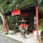 kleiner Tempel zwischen Taipeh und Taoyuan