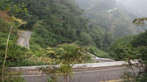 am Weg nach Taoyuan - ein letzter Blick zurück zur abgerissenen Straße