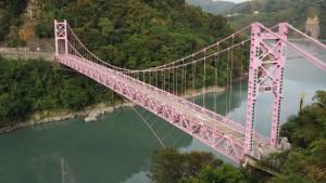 Fuxing Bridge über den Dahan River
