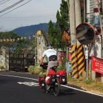 auf der Luoma Road Richtung Hsinchu County