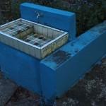 fast bei jedem noch so kleinen Tempel: ein Waschbecken