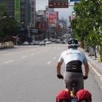 hinein ins Zentrum von Hualien