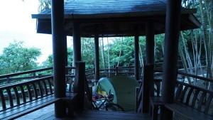 perfekter Zeltplatz - nicht nur bei Regen
