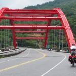 Brücke unmittelbar vor Jingpu
