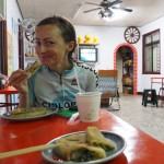 leckeres Frühstück in Jingpu