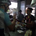 Frühstück zahlen (Foto von Yvona und Jan)