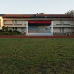Morgenstimmung bei der Taitung County Fushan Elementary School