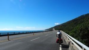 am Provincial Highway No. 9 Richtung Süden