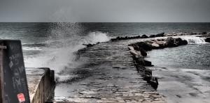 düsteres Wetter in Poreč