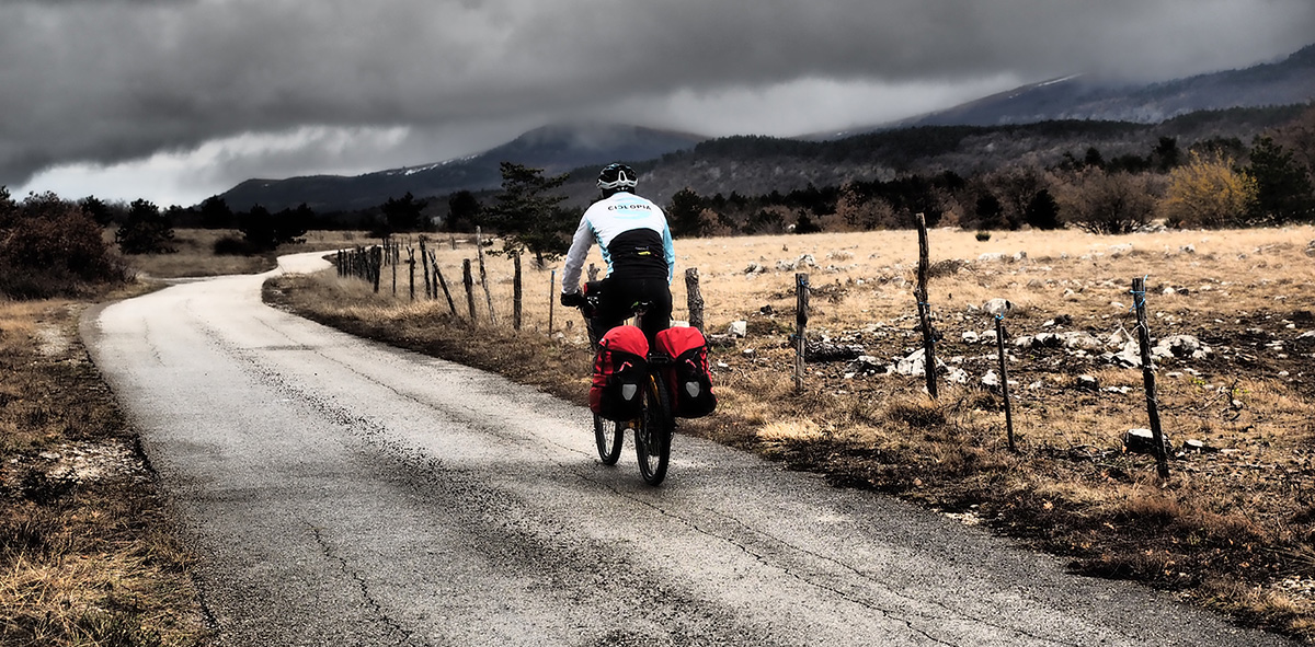 Traumstrecke kurz nach der Grenze Kroatien/Slowenien