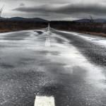 Regenwetter: retour Richtung Sežana