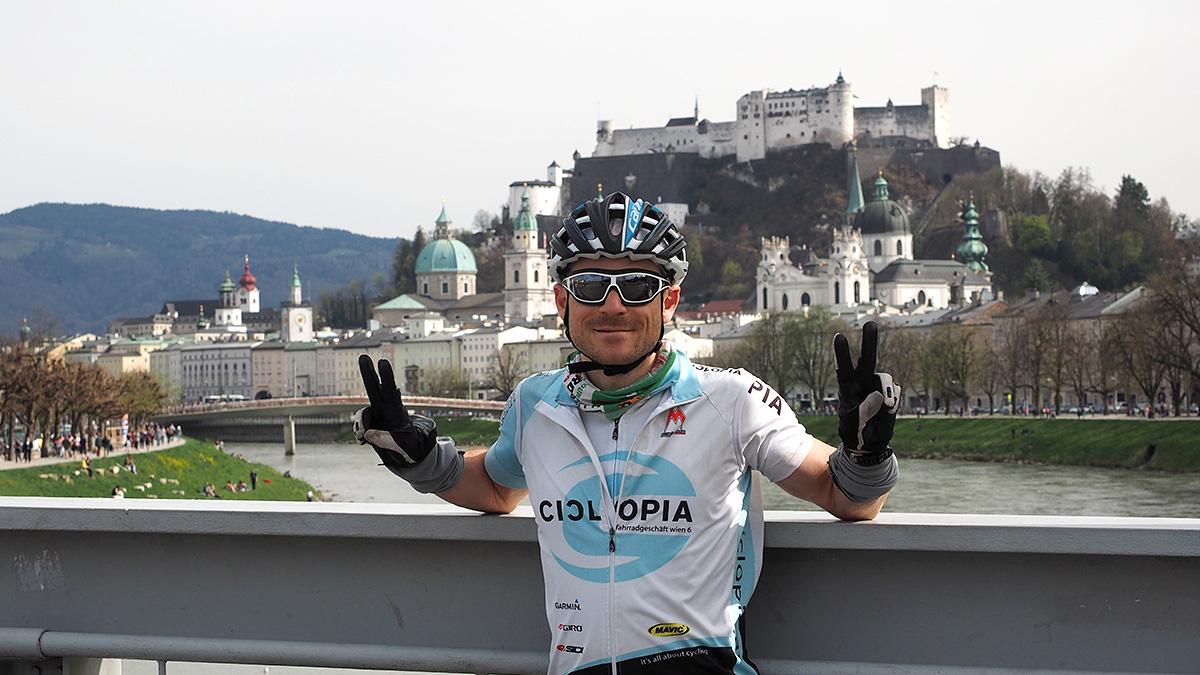 Am Ziel in Salzburg