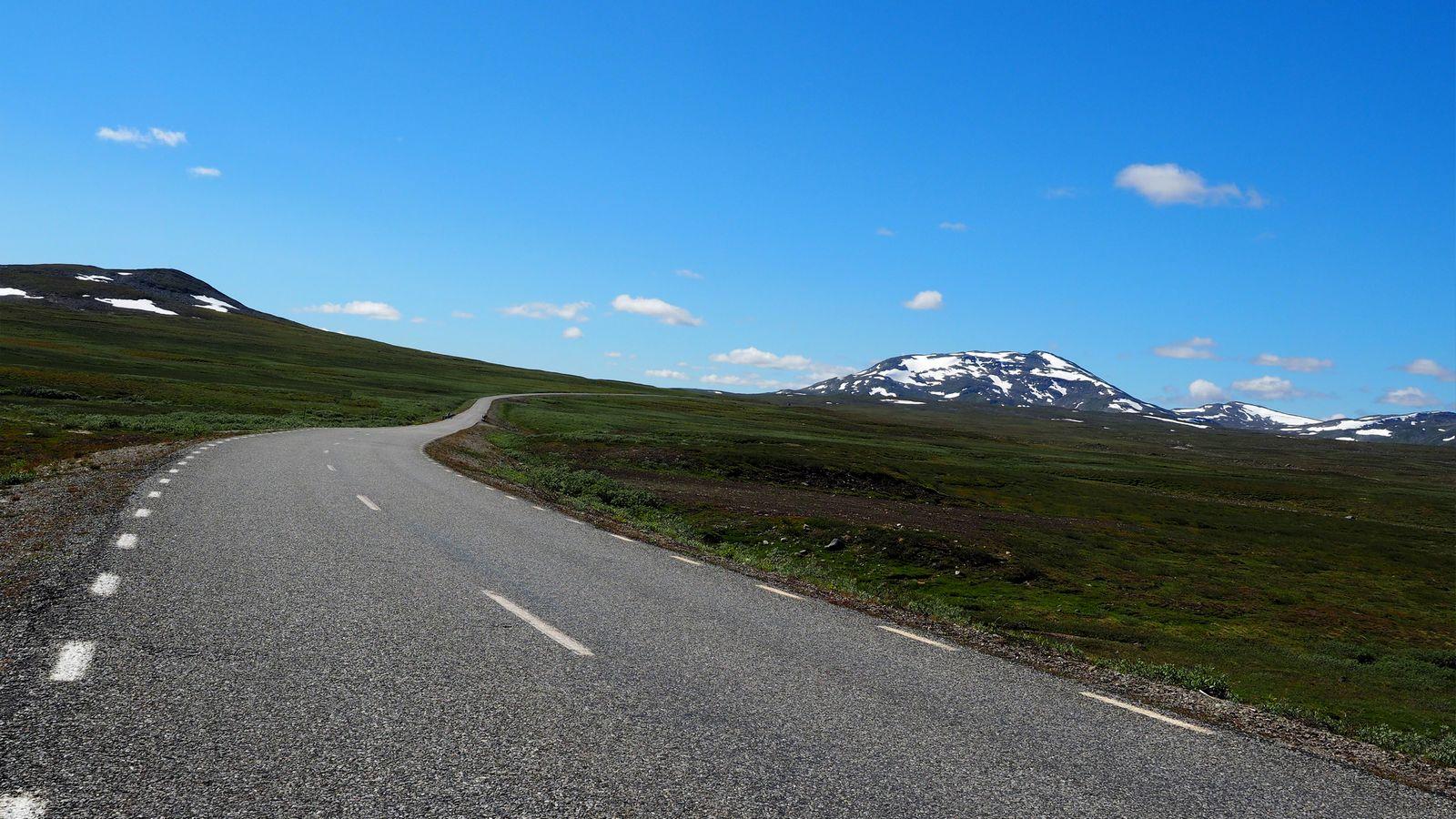 entlang des Børgefjell-Nationalparks