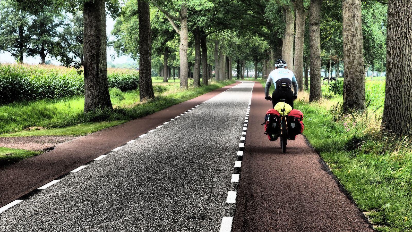 tolle Radwege in den Niederlanden