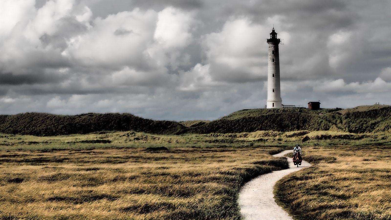 Mit Rad und Zelt durch Skandinavien 04:<br>Die West-Küste Dänemarks