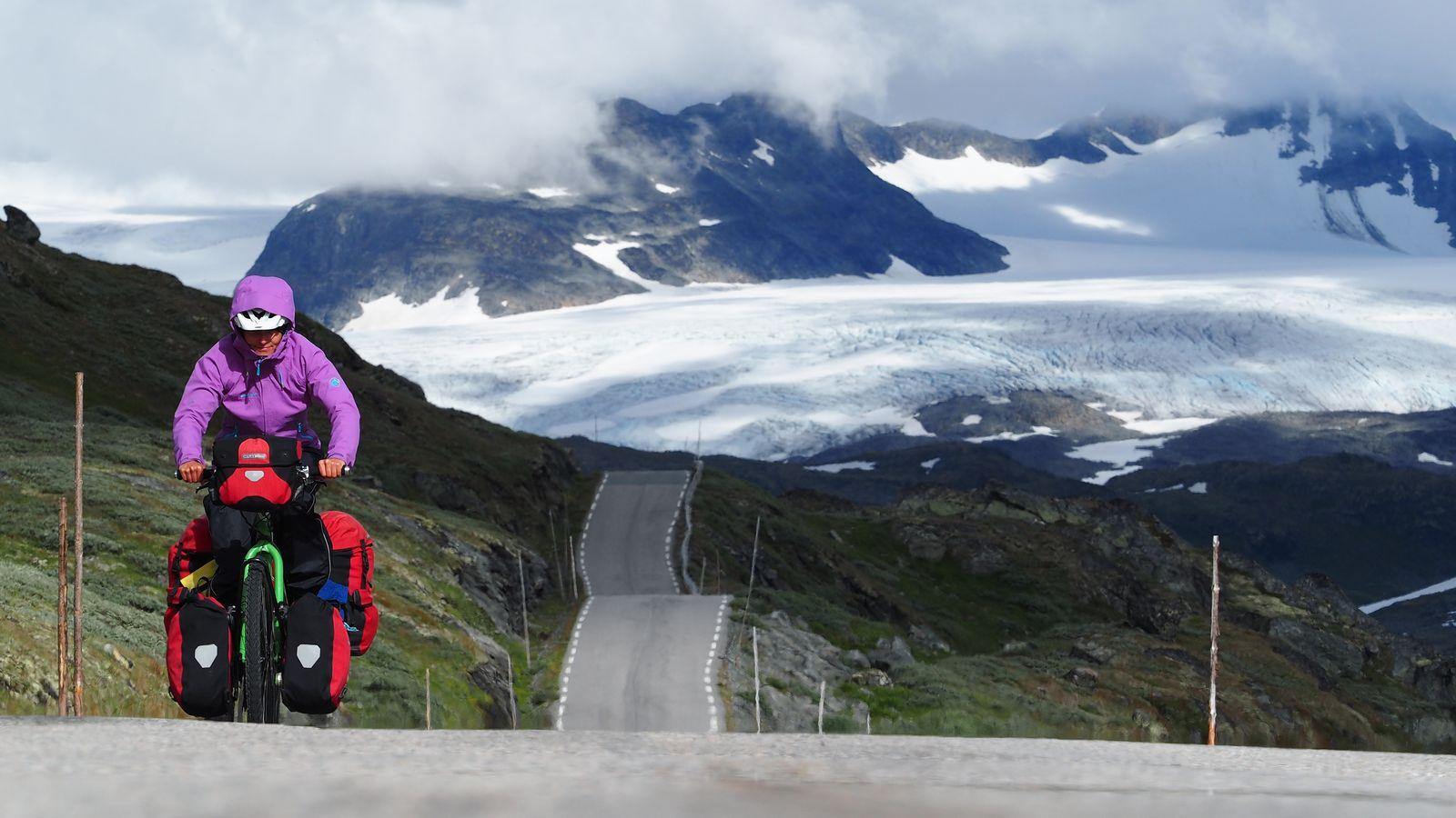 mit Rad und Zelt durch Norwegen 03: <br>Trondheim – Langesund