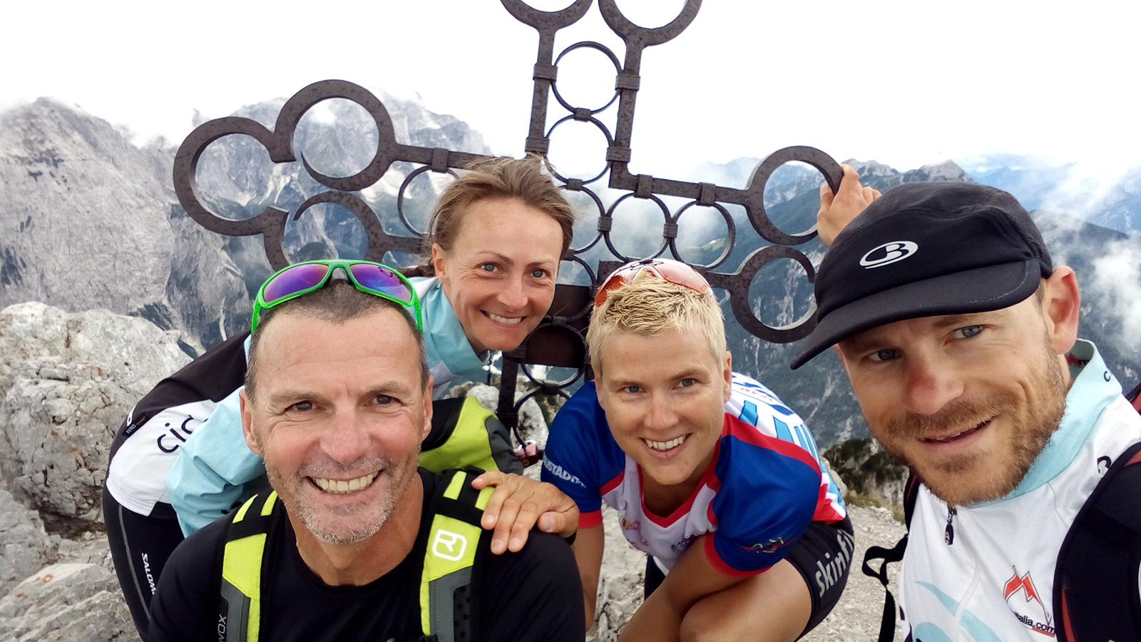 Cima del cacciatore - super Bergtour mit Martina und Michael