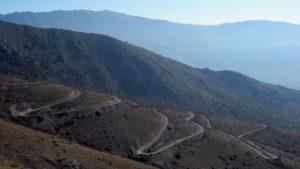 Abfahrt von Calascio nach Frasca
