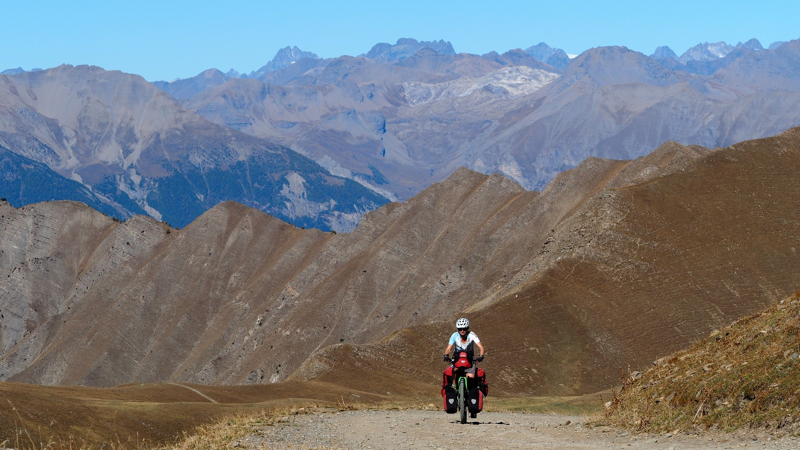Nordwestauffahrt zum Col du Parpaillon - 2.637m