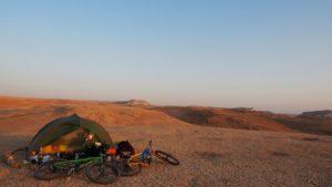 Traumzeltplatz oberhalb des Toten Meers