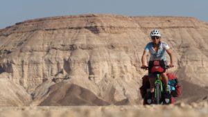 Radreise Israel - durch die Judäische Wüste