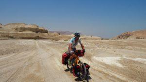 Radreise Israel - durch das Wadi Perazim