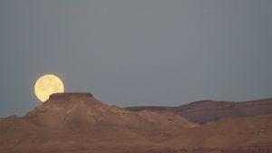 Vollmond in der Judäischen Wüste