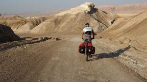 auf dem Weg zum kleinen Makhtesh Krater