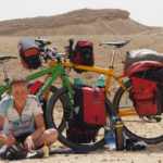 """schattige"" Pause am Israel Bike Trail"
