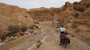 Radreise Israel - Wadi Dragot