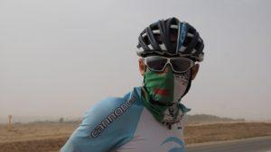 Wüstensturm auf dem Weg nach Mitzpe Ramon
