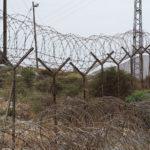 Schutzzaun einer jüdischen Siedlung im Westjordanland